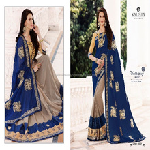 indian Georgette new fancy designer sarees online