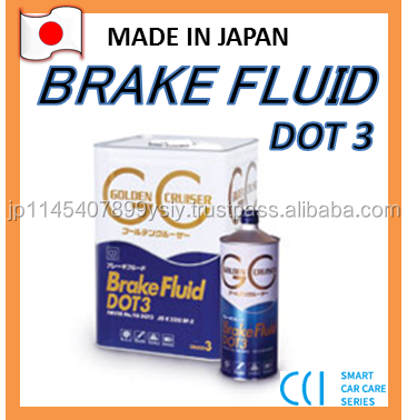Best selling Japan Quality Lubricant Brake Fluid DOT3 ,Made in Japan