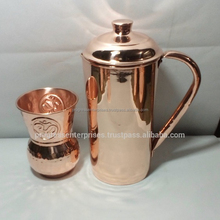 Copper Yoga Pitcher with Health Benefits of Ayurveda