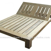 SMS DOUBLE SUN BED -SOLID TEAK WOOD