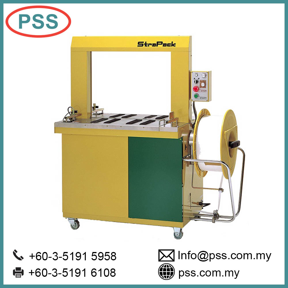 Fully Automatic Strapping Belt Packing & Bundling Strapping Machine