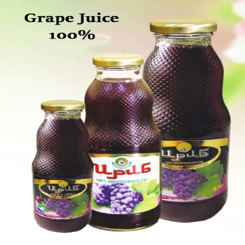 0, 75L 100% natural red grape juice pure and healthy perfect quality and cheap price
