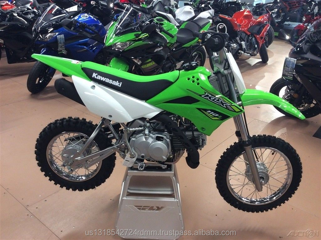 Factory Sealed 100% Authentic 2018 Kawasaki KLX110L Off-Road Lime