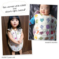 6 layer gauze Baby Sleepsack. Made in Japan Cotton 100% Baby Boys Girls Pajama