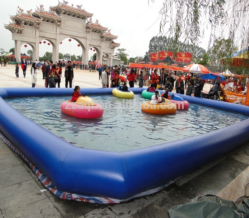 Customized game swimming water pool inflatable mini swimming pool for kids