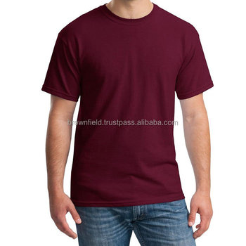 Wholesale Preshrunk 100% Cotton Blank Plain Brand Private Label Premium Supreme Fitted Running Bangladesh O-neck Cheap T shirt
