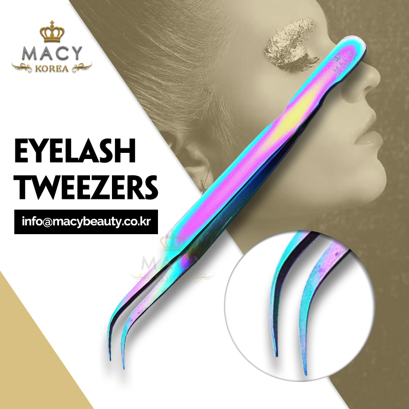 Macy Tweezers stainless high quality eyelash extension kits