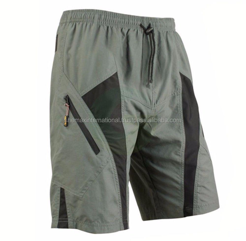 Men's Loose Mountain MTB Bike Bicycle Cycling Baggy Shorts Padded