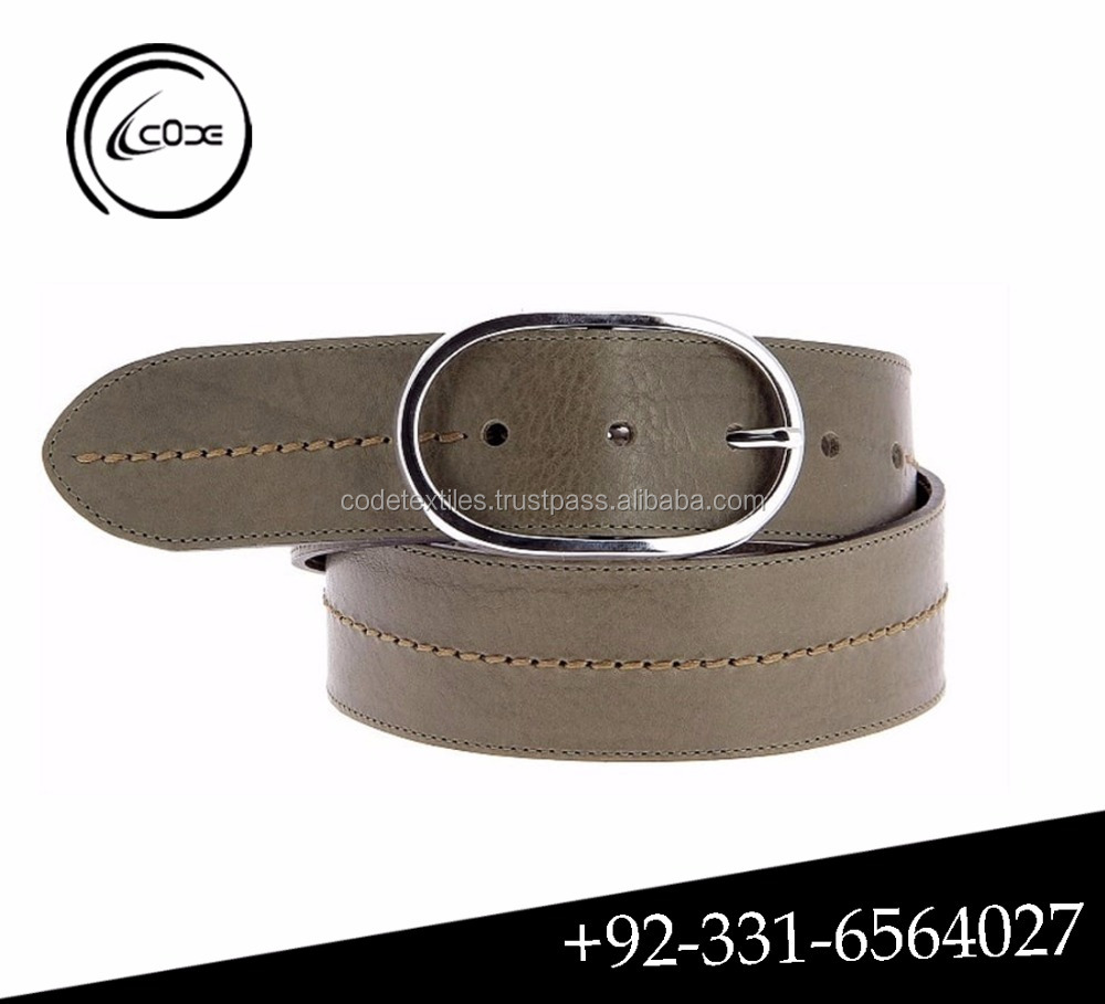 High quality cowhide genuine leather belt for women