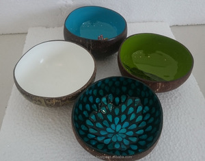 Coconut Shell painting bowl