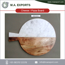 Wholesale Eco-friendly Kitchen Wood Chopping Cutting Board / Round Pizza Vegetable Lap Cheese Cutting Board