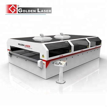 Large Flatbed CO2 Laser Cutting Machine for Polyester Filter Fleece