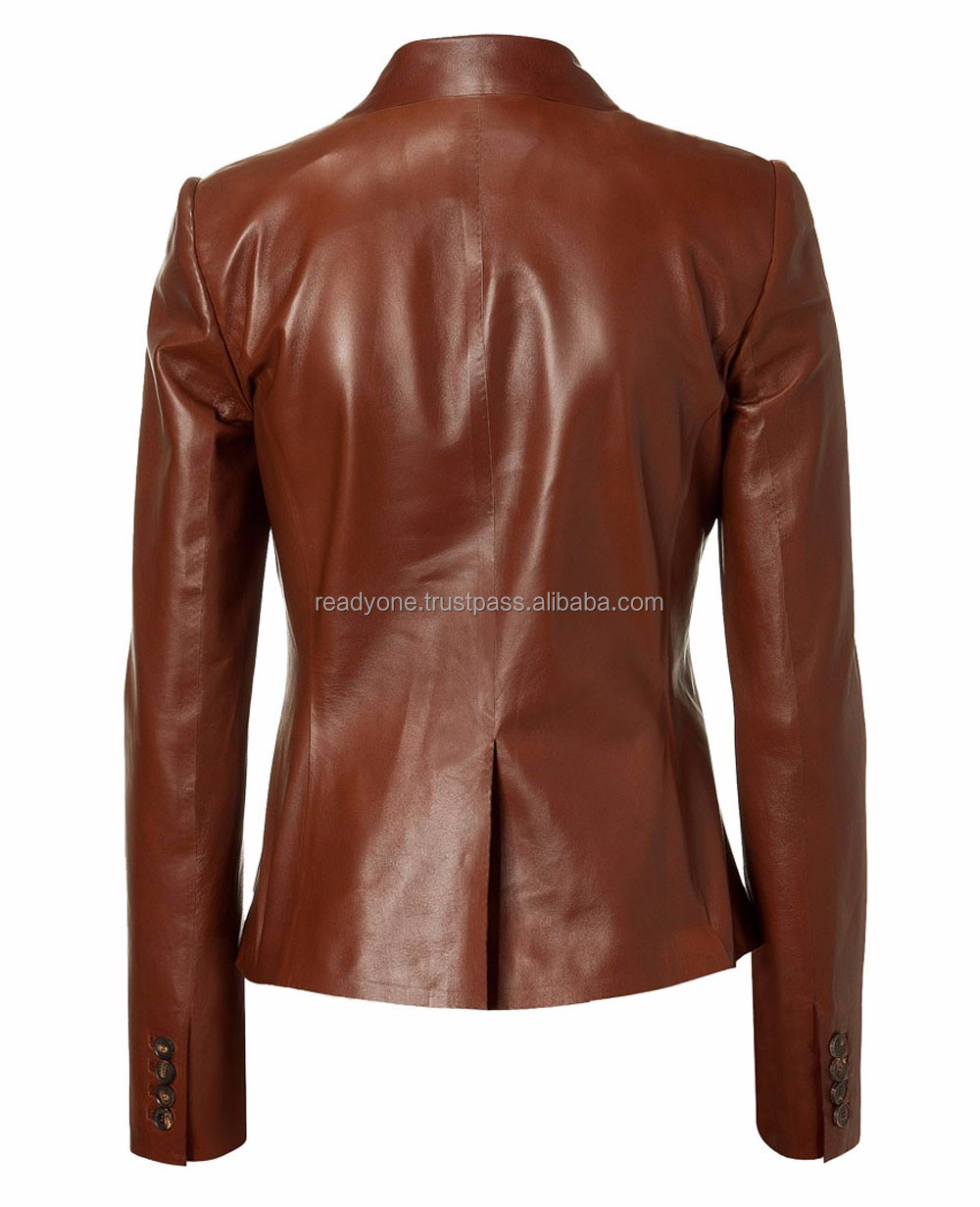 New style jackets women 2017 leather women jackets and blazers
