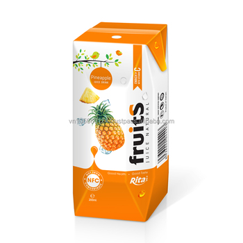 Wholesaler fruit juice orange juice in box packing