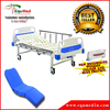 EQUMED Manual Single Hospital Bed Complete with Mattress