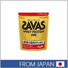 Effective and Popular whey protein powder SAVAS WHEY PROTEIN Cocoa Flavor made in Japan