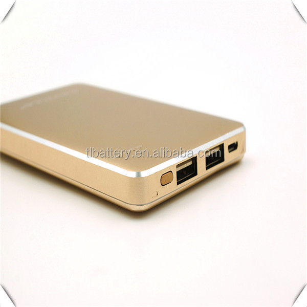 Promotional gift consumer electronics mobile phone power bank 12000mah