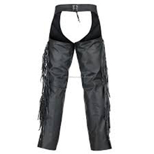 Motorbike Riders Leather Chaps With Customization
