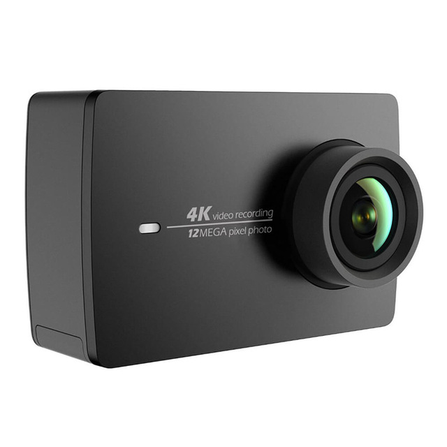 "International Version]Original Xiaomi YI 4K Action Camera 2 Ambarella A9SE Sports Camera 2 155 Degree 2.19"" 12.0MP CMOS EIS LDC"