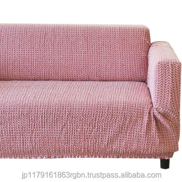 Long-lasting use and Anti-bacterial knit fabric sofa cover , sofa slipcover at reasonable prices
