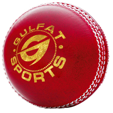 Genuine Leather Machine Stitched Red Colour Professional Cricket Ball 50 0ver Match