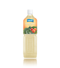Peach Flavor Aloe vera drink with pulp