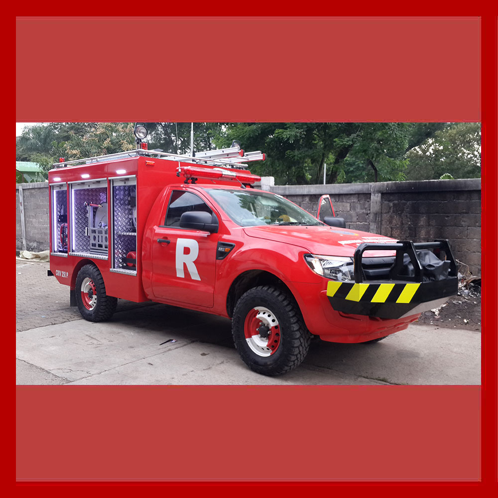 The Best Quality Agile Four Wheeled Small Emergency Equipment Truck - Rescue Jeep