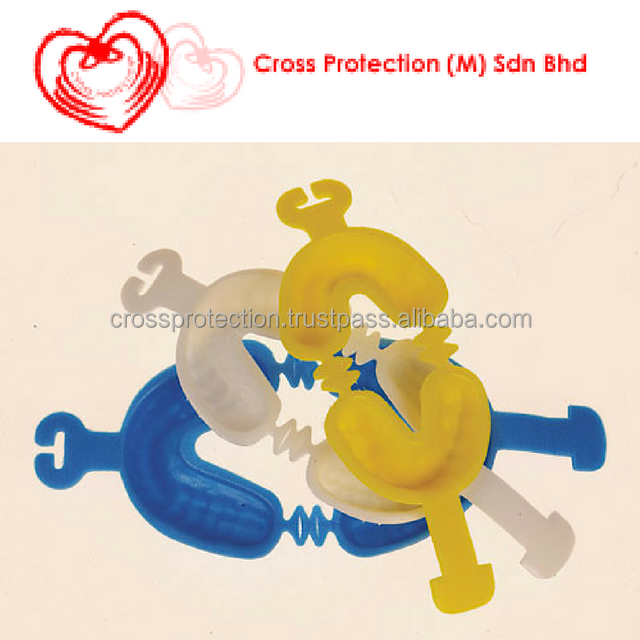 Colorful Disposable Thermoforming Fluoride Foam Dental Impression Trays