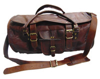Bag Leather Travel Men Genuine Gym Duffle Luggage Vintage S Overnight Shoulder Weekend Large New Brown Backpack Duffel Toil