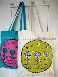 screen printed organic eco friendly tote bags cotton