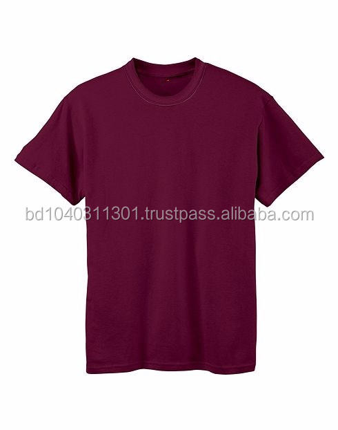 wear t shirt boys cotton plain t shirt custom knitted top for boy
