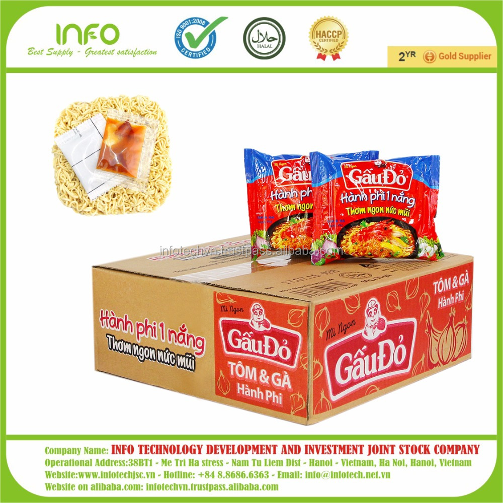 Gau Do Instant Noodle with Chicken Flavour 64G
