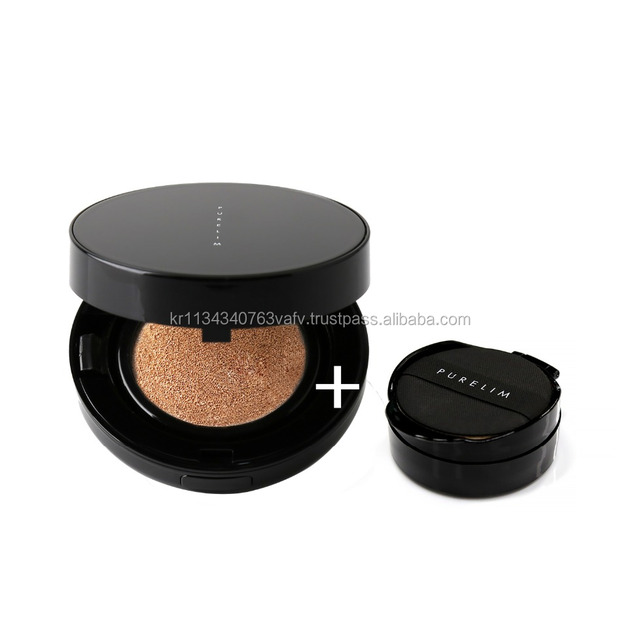 Purelim Korean cosmetic foundation cream cc cushion for skin care with brightening and moisturizing