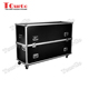 "Tourgo 70"" Plasma LCD Aluminum Fight Carrying TV Case Shipping Cases for Flat Screens Trade Shows Custom Built"