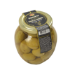 Natural Green Olives stuffed with Almond /370gm