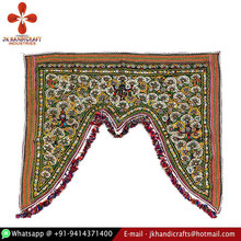 Luxury Decoration Indian Hand Embroidered Kraft Vendor Toran for Home Decor