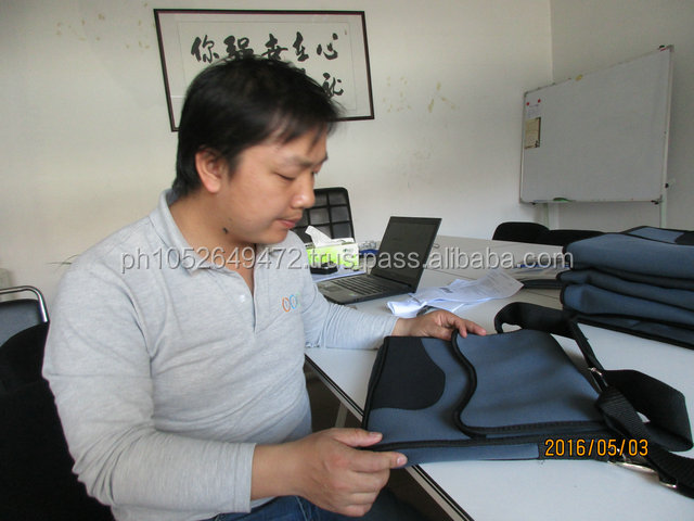 Pre-Shipment Inspection for Laptop and Tablet Bag in China