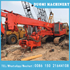 Used hydraulic hitachi earth drill used in garden building or hole drilling
