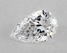 0.80 Ct. Pear Shape Loose Diamonds Natural Diamond D SI1 AGS