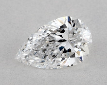 0.80 Ct. Pear Shape Loose Natural Diamond D SI1 AGS