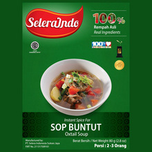 Selera Indo Oxtail Soup / Sop Buntut Seasoning - Instant Spices