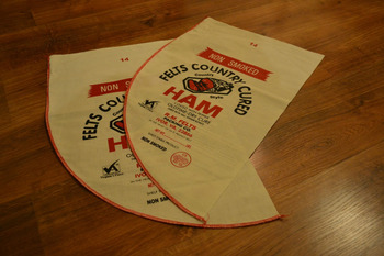 Food Packaging Bag (sack) made with Pure cotton Any Size - Silk Screen Printed