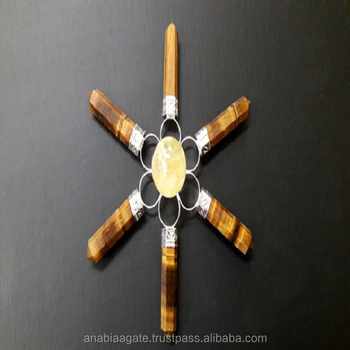 Tiger Eye Points with Crystal Ball Energy Generators