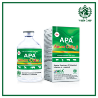APA Amox Colis S | Amoxicillin Injection - Fever medicine for animals - Special cow medicine