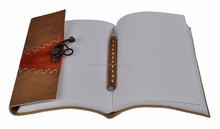 Handmade Office Leather Travel Classic Event Planner Notepad Supplier cheap journals notebooks