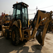 CAT 420F-II 2017 year new backhoe tractor front end loader snow blade in shanghai for sale