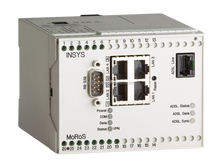 MoRoS ADSL J Router, 4 Port-Switch, Firewall, IP-/Port Forwarding, Netmapping