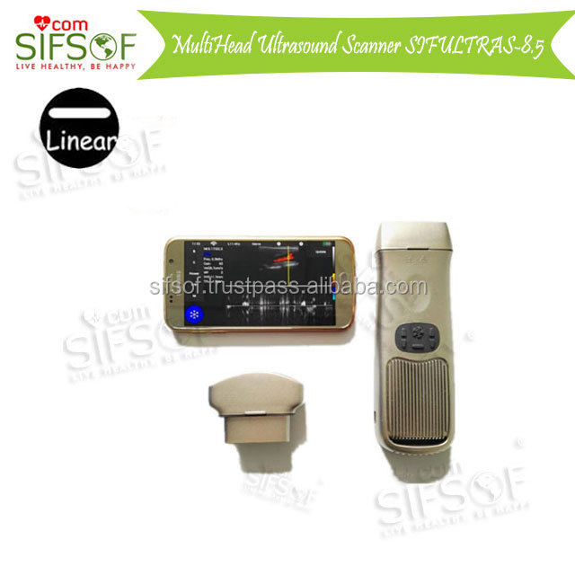 Portable Ultrasound Wifi Machine Price, Multi-Frequency Changable Head Wireless 64 Elements 128 Elements SIFULTRAS-8.5