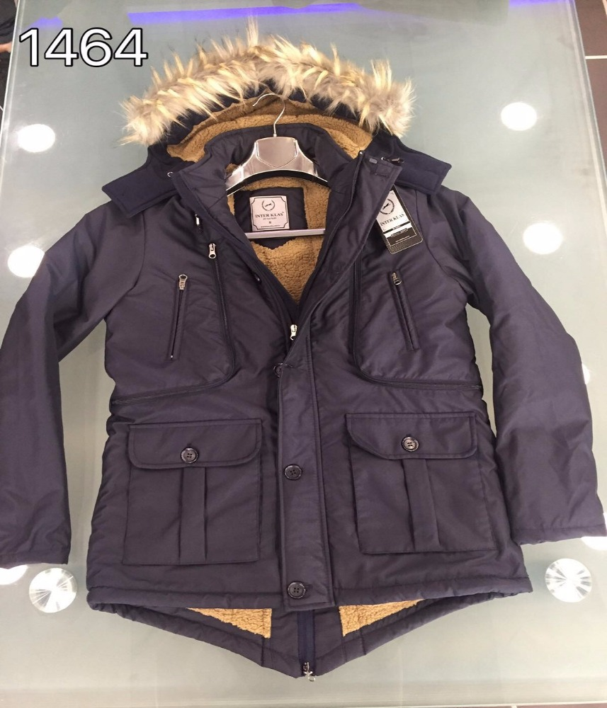 2017 New Coat Fur Collar Men Winter Jacket Men's High Quality Hooded Down Coat Down Parka