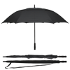 68 Inch Automatic Open Extra Large Golf Umbrella Double Canopy Vented Windproof Waterproof